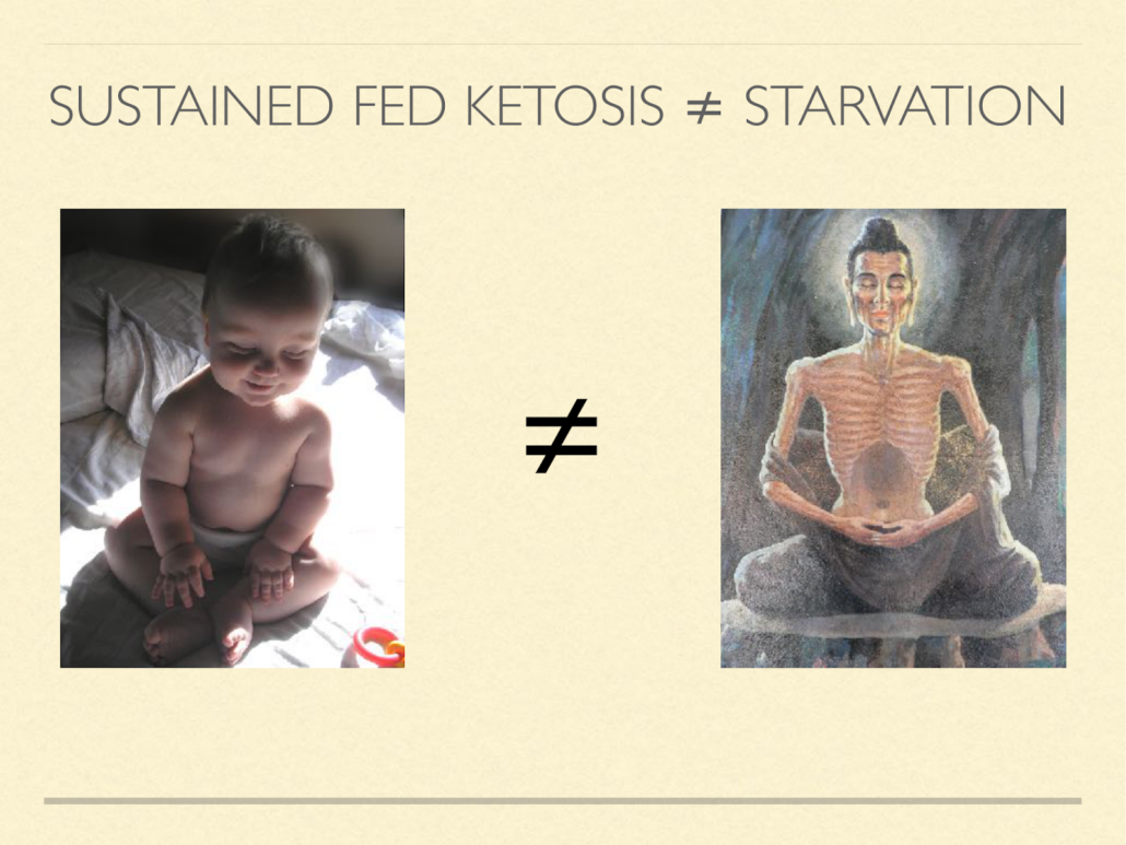 ketosis is not starvation